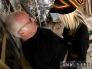 Blind folded threesome Gorgeous blonde Tina is highly busy at the