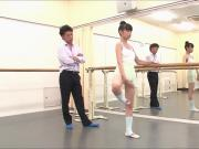 Adorable dancer Yura loves sucking on big dicks