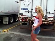 Trailer whore raunching on an RV