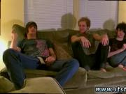 Sexy gay teens suck their own dick first time Erik, Tristan and Aron are