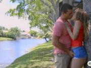 MILF caught teen pleasuring her BFs cock