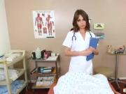 Sultry doctor Riley Reid sucks and fucks her patients cock
