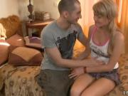 Bogdana deflowered by a throbbing cock