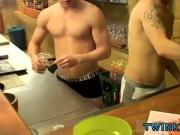 Free gay have sex male first time in his ass first time Corbin & PJ -