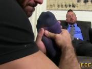 Gay porno sex movies feet first time Hugh Hunter Worshiped Until He Cums
