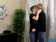 Tall and slim twink Dakota blows a two hot loads