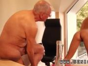 Old man young nurse and old guy homemade Paul rock hard drill Christen