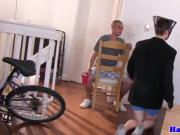 Fratboys suck cock and get fucked at hazing