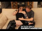 Slut Wife Dixie gets Hubby Commands Via Text Message