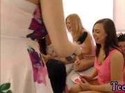 Pov teen first creampie and nina james blowjob 40 chicks came over to