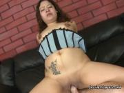 Latina Hoe Calista Has Her Wet Pussy Ruined