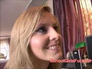 Schoolgirl Candice dreaming about sex