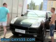 Teens sex gays tube Anal Fucking At The Public Carwash!