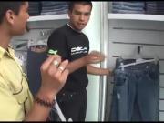 Latin Twinks Xavier and Santiago Fucking