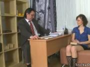 Young coed seduced her teacher
