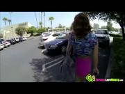 Sexy teenager girl Sasha Summers has a big catchy nipple and gets screwed by a stranger
