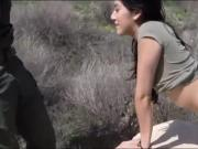 Sexy latina Kimberly Gates pounded by border patrol agent