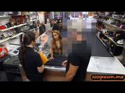 Crazy bitch pawned a gun and fucked hard