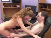 Hot little blonde gets her pink pussy filled with hard cock