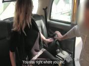 Gorgeous Milf bangs in fake taxi