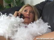 This Sexy Mom Is Desperate To Be Fucked Now!