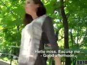 Charming brunette Antonia Sainz sucks a huge dick for money