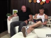 Teenagers with large feet gay Daddy Dev Worships Sebastian's Feet