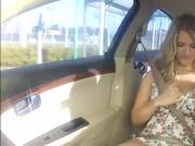 Teen babe gets screwed in gas station