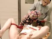 BDSM hardcore action with ropes and cute sex