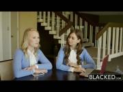 BLACKED Teens Dakota James and Riley Reid Share a Huge BBC