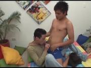 Latin Twinks Francisco and Ramiro Fuck Bareback