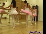 Asian lesbian dildo first time Hot ballet chick orgy