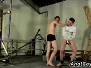 Boy slave bondage gay What A Hardcore Welcome!