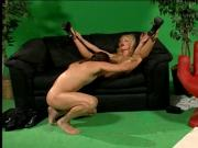 Agile young slut rides a dick before getting nailed