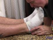 Gay twink boys hairy legs Aaron Bruiser Lets Me Worship His Big Sexy Feet