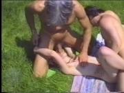 Sexy whore gets her face rode with pussy while getting fucked