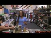 Hot nurse goes to a pawnshop and pounded