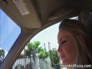 Stunning Staci gives a blowjob to dude and gets fucked for revenge