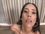 Hot and sexy babe Tia Cyrus takes big cock in bed
