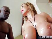 Voluptuous cocksucker Eva gets fucked