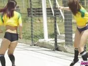 Soccer teens gets banged the hardest