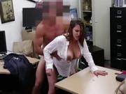 Frustrated MILF sucked cock for cash