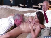 Duke screwing Ivy Rose pussy from behind doggystyle