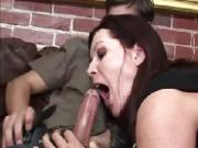 Pervert dude fucked two horny babes