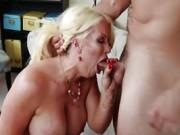 He is on to the next hot MILF and likes to enjoy her pussy