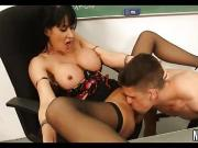 Big Tits Instructor Fucked On Table Eva Karera