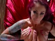 Tattooed babe getting fucked