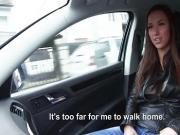 A sexy stranded teen Victoria fucks a nice stranger