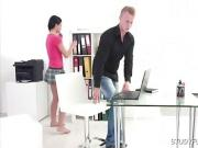 Hot Russian Babe Fucked At The Office