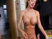 Sexy busty Franceska Jaimes fucked